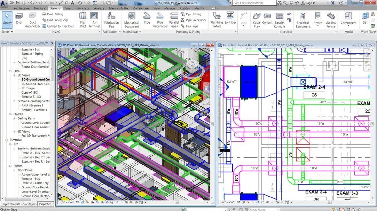 Проектирование с применением BIM