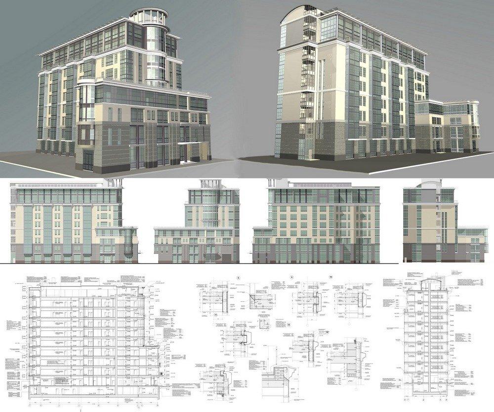 проектная документация для многоэтажного здания