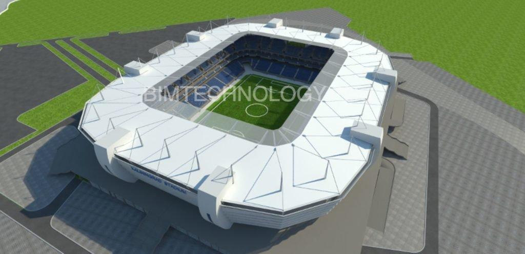 Стадион Чемпионата мира ФИФА в г. Калиниграде