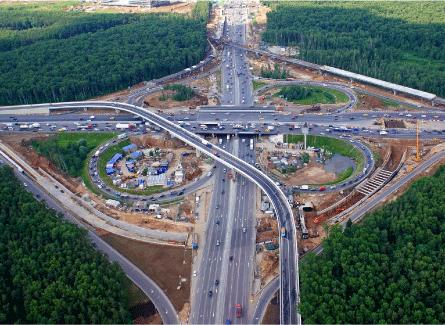 строительство транспортных развязок